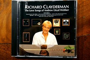 Richard-Clayderman-The-Love-Songs-Of-Andrew-Lloyd-Webber-CD-VG