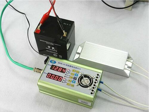 Dual Battery Capacity Tester 0-12A 0~20V Discharge Current Resistance Detector