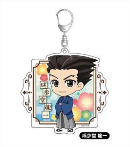 Phoenix-Wright-Ace-Attorney-Phoenix-Wright-Acrylic-Key-Chain-Anime-Manga-NEW