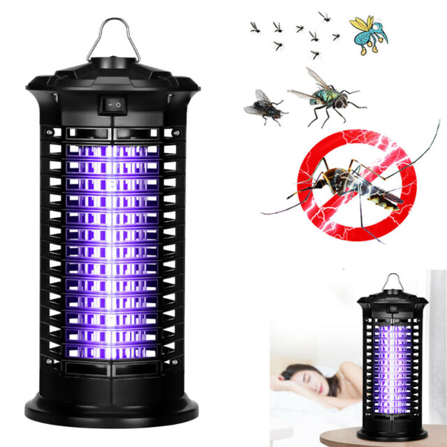 Electric Mosquito Fly Insect Killer Bug Zapper Trap Lamp Outdoor Indoor Light UK