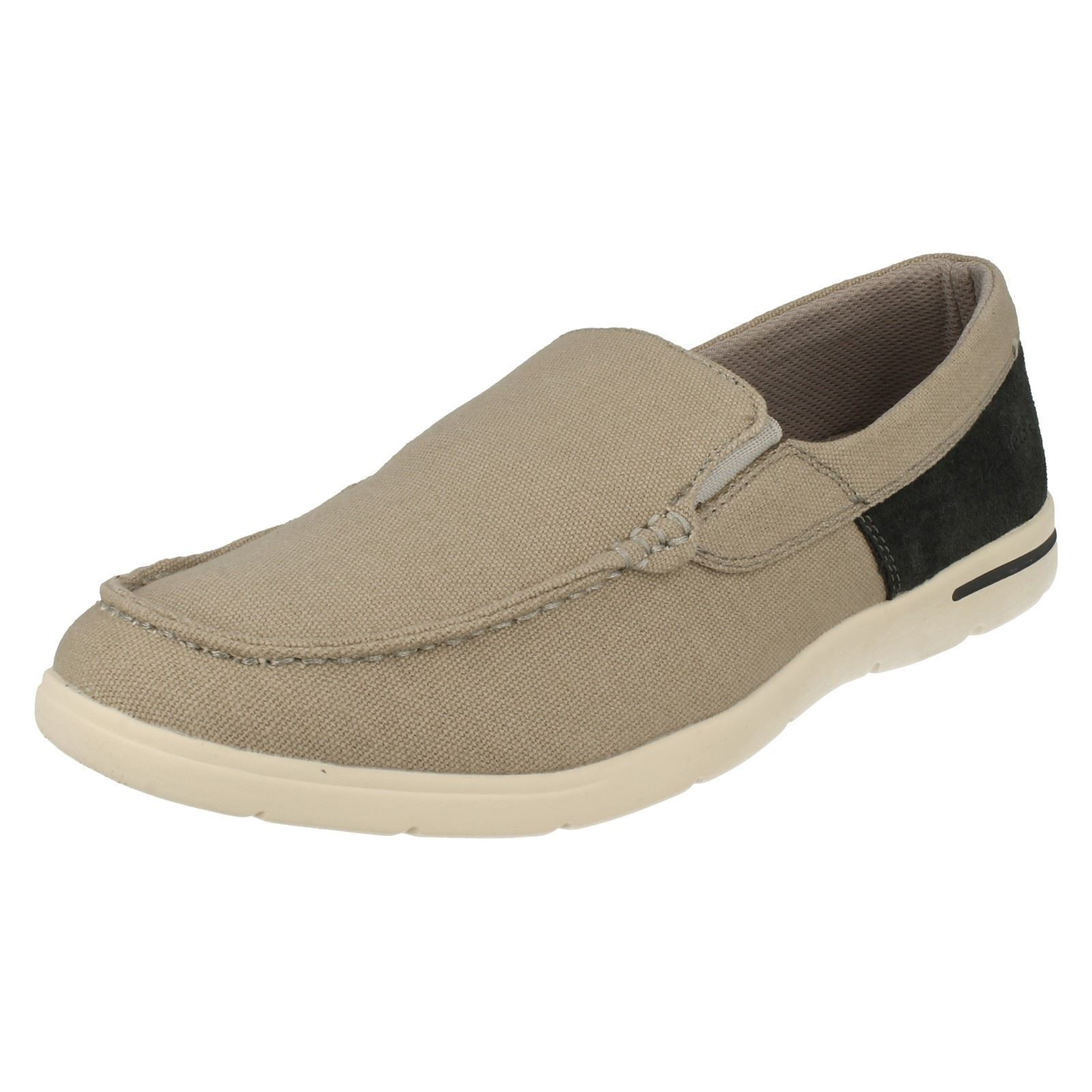 PADDERS MENS LEE ROUND TOE FLAT LIGHTWEIGHT CASUAL EVERYDAY SLIP ON PUMPS SHOES