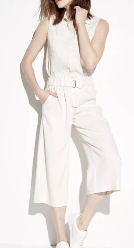 Vince Utility belted ivory Jumpsuit