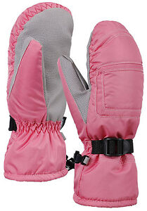Women Weather-Proof Thinsulate Snow Mittens Ski Gloves