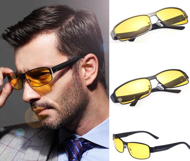New Brand Mens Polarized Car Driving Sunglasses Night Vision Eyewear Glasses