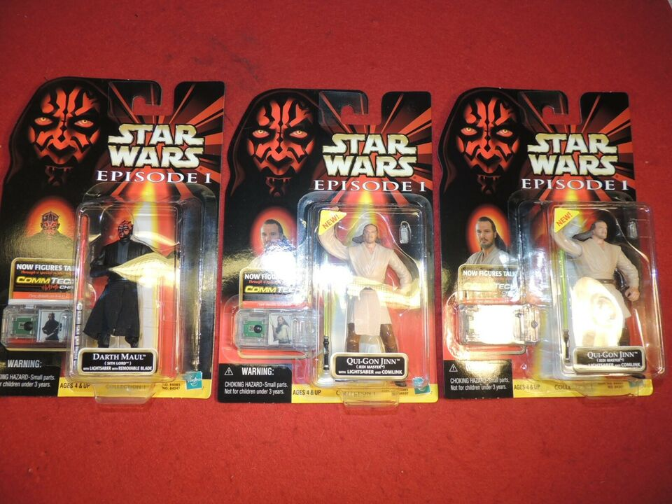 16 STAR WARS FIGURER -UBRUDT EMBALLAGE, STAR WARS