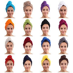frottee haar turban kopfhandtuch kopftuch handtuch haarpflege