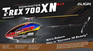 Align-Trex-700XN-Dominator-Nitro-RH70N12X-No-Electronics
