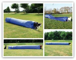 Dog-Agility-Tunnel-Dog-Training-Large-Nylon-Sack-Tunnel-5-Meters