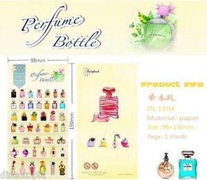 Cute-Perfume-Bottles-Design-Kawaii-Diary-Album-Decor-Stickers-Scrapbook-DIY