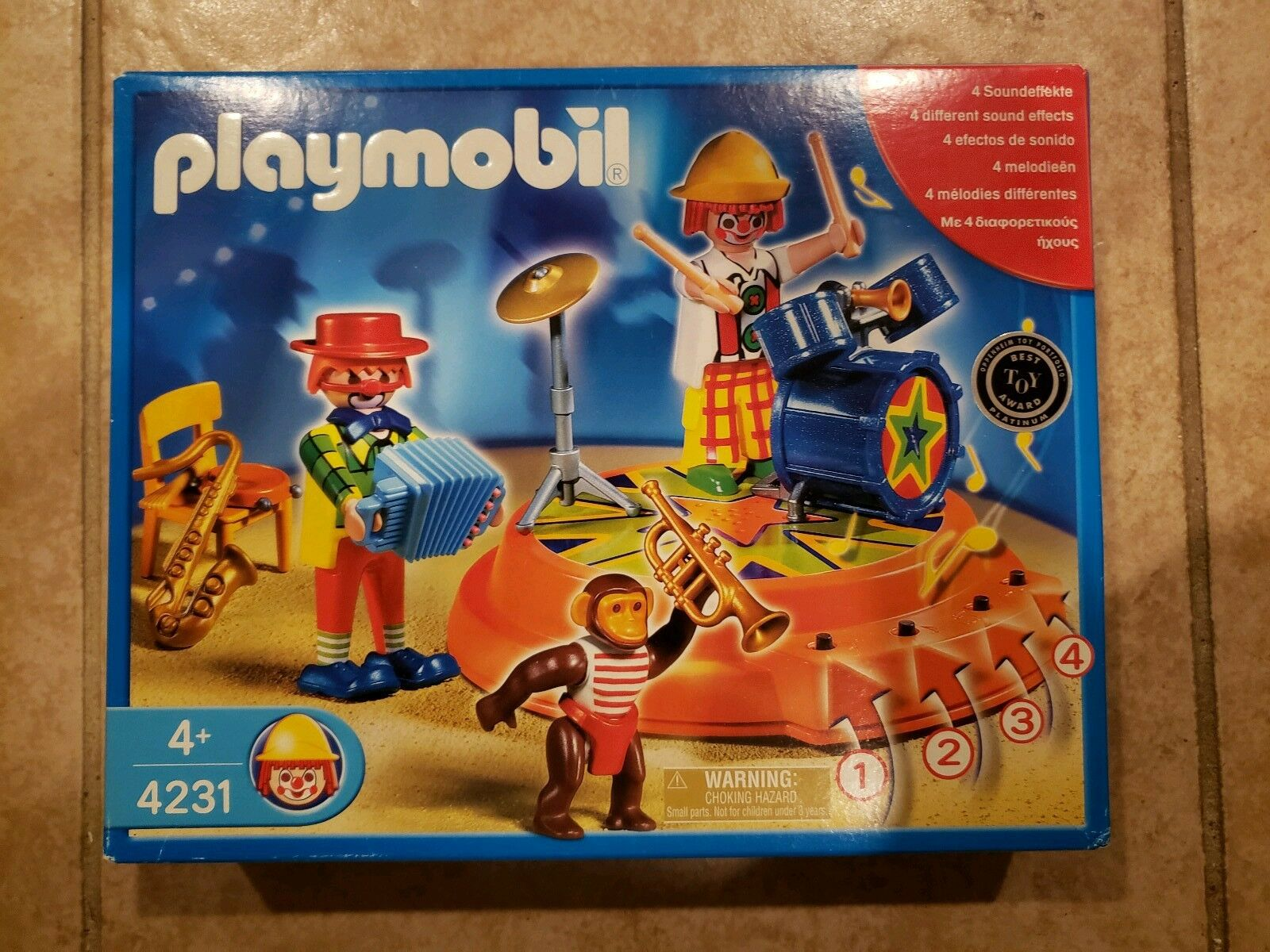 Playmobil 4231 Circus Band with Sound effects