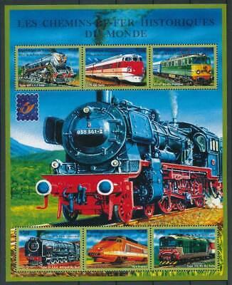 Verkehr & Transport Briefmarken 597618 Guinea Klbg.3121-6** Eisenbahn PüNktliches Timing