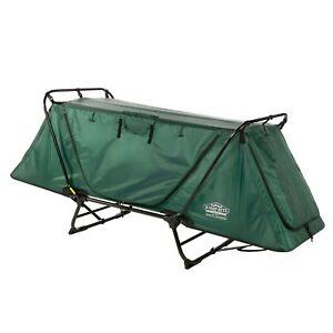 Disc O Bed Extérieur Camping Lit de Camp poche latérale//side Organiseur Military Green