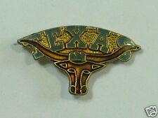 Long Horn Texas Steer Cow skull  Pin (Item #17**)