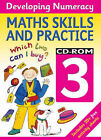 Developing Numeracy: Maths Skills - Year 3 by Blakes (CD-ROM, 2005)