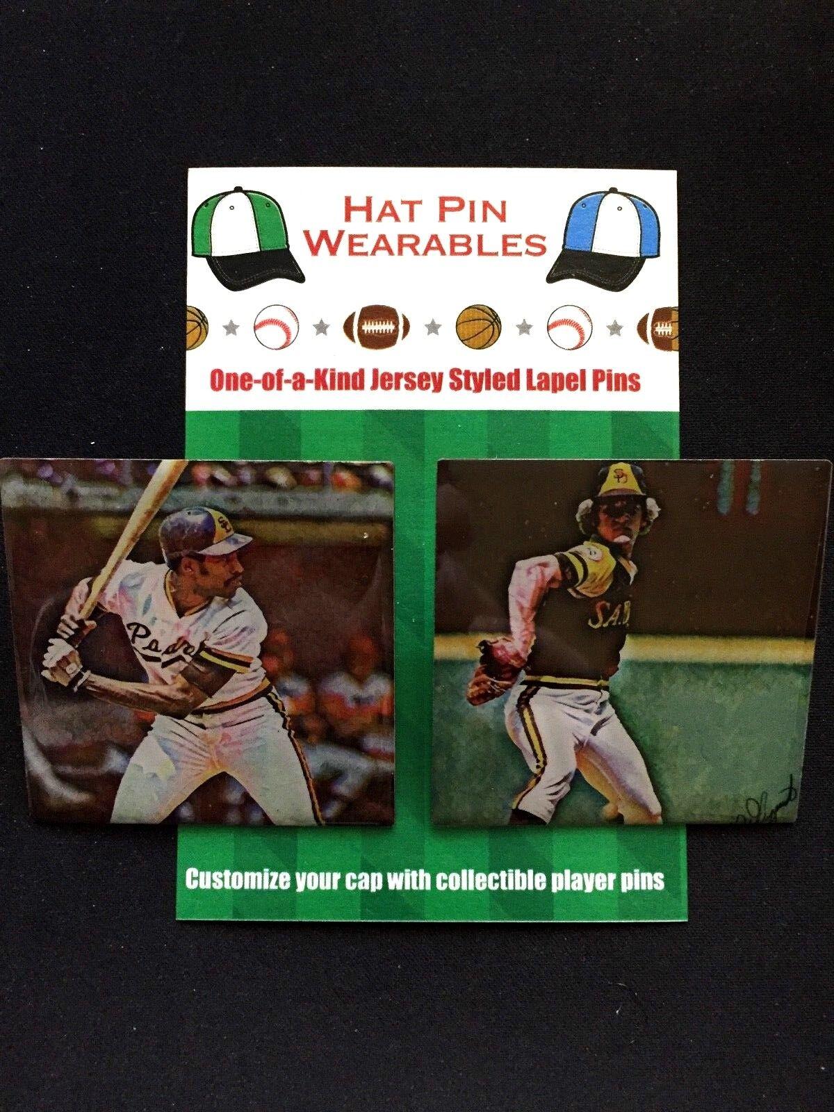 San San San Diego Padres Dave Winfield   Randy Jones Revers Stifte-  1 Fan Favorite aaa7c3