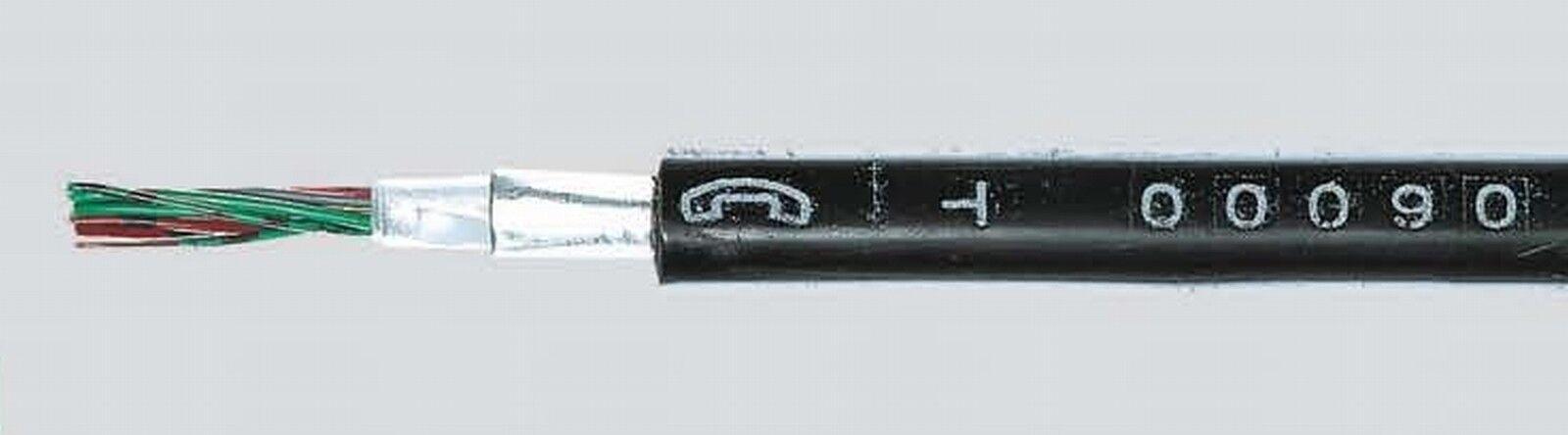 A-2Y(L)2Y 4x2x0,8 mm 30m Meter Fernmeldekabel Telefonerdkabel Telefonkabel | Haltbarkeit