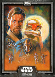 Topps Star Wars Card Trader Digital BLUE CTI Illustrated R2-D2