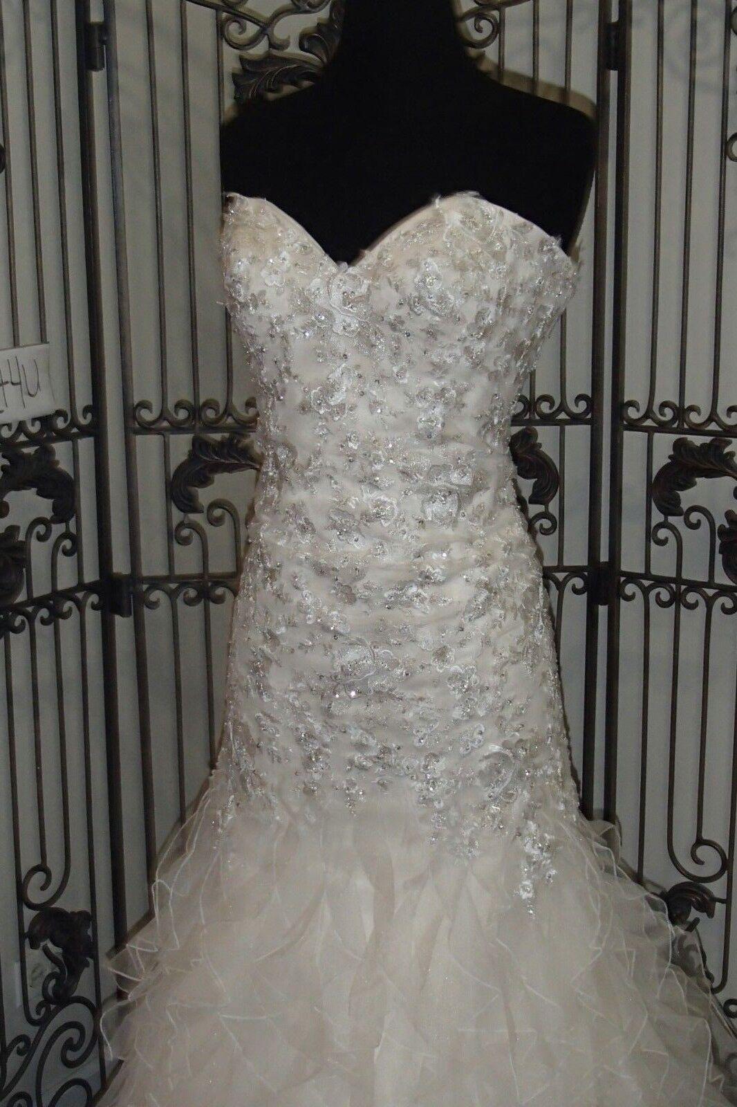 1040w Chloe Girlande 1097c Sz 12 Formell Hochzeit Kleid Brautkleider Kleidung & Accessoires