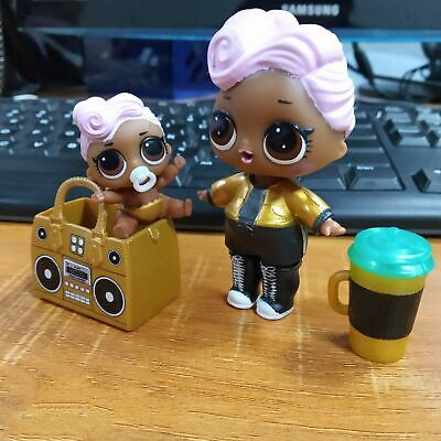 Original LOL Surprise Dolls Series 2 Wave 1 DJ FAMILY DJ~NAPPING D.J Doll Gifts