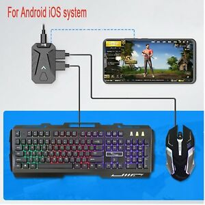 Details about PUBG Mobile Gaming Keyboard Mouse Adapter Converter for  Android Phone iPhone YUE