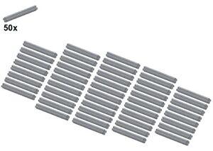 LEGO-Technic-Small-Parts-Axles-32073-10-Laenge5-50Stk-Achse-Hellgr