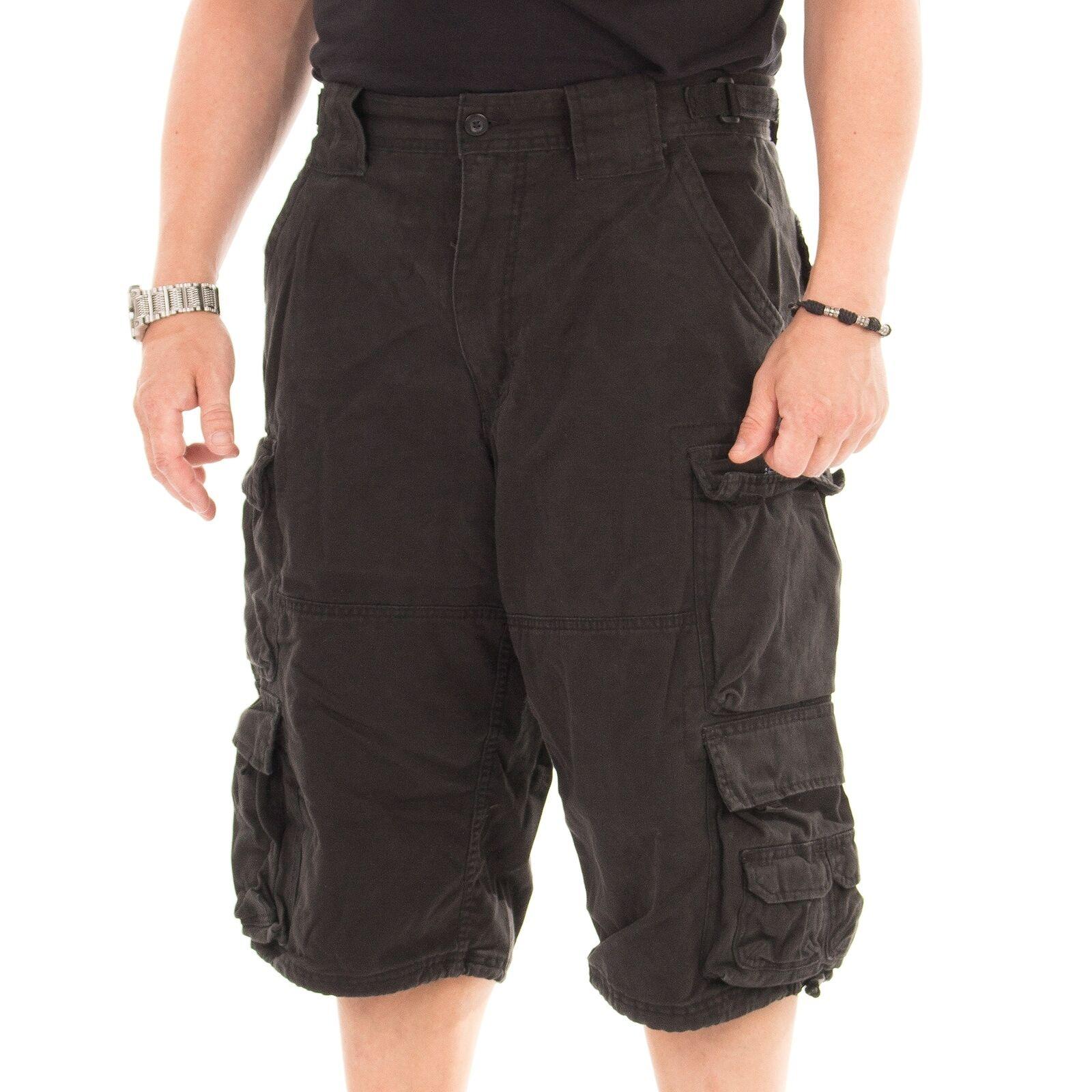 Jet Lag 007 B Short Herren kurze Hose Hose Hose Sommerhose Farbe schwarz 15242 7e3801