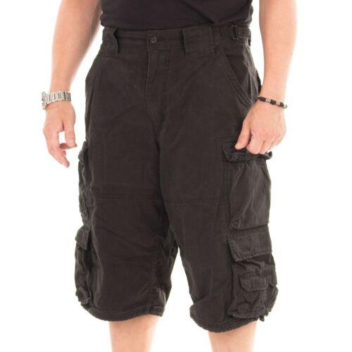Farbe schwarz Jet Lag 007 B Short Herren kurze Hose Sommerhose 15242
