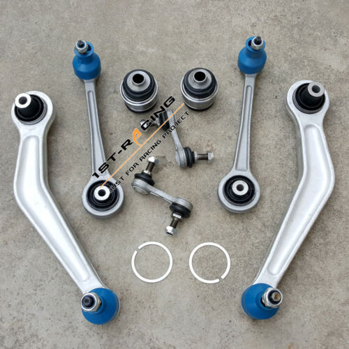 For BMW 525i 528i 530i 540i Rear Suspension Control Arms Kit Tie Rod Sway Bar