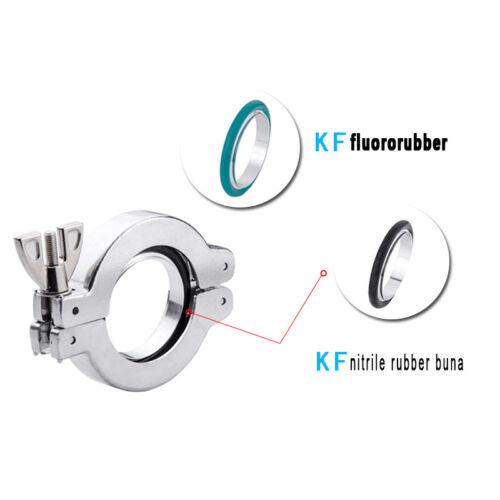 BRIDA de goma de flúor-o-ring para vacío HORNOS DE SECADO KF-10 NW10