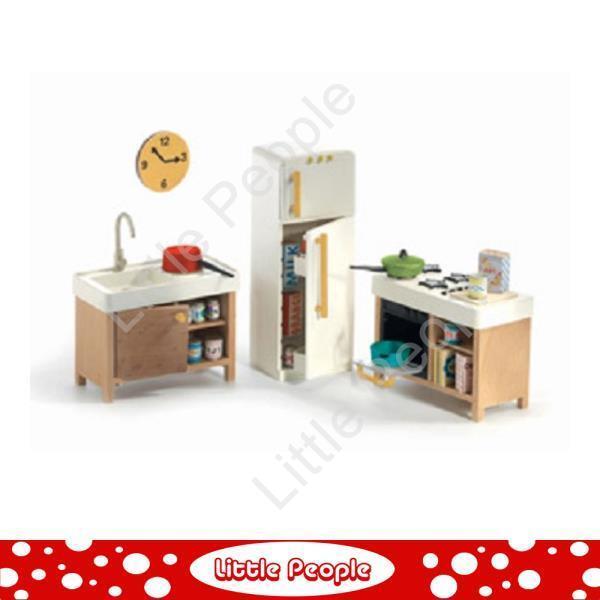 Great Djeco Kitchen Dolls House Furniture 1 16 | EBay