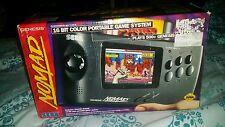 Sega Nomad Genesis Black Handheld CIB ● MD battery attach AV AC ADAPTOR NICE !