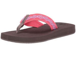 0d5501ee0 Reef Women s Sandy Flip Flops Sandal RF1541 Calypso 100% Original ...