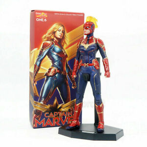 Crazy-Toys-Avengers-Captain-Marvel-1-6-Scale-12-034-PVC-Action-Figure-Statue-Model