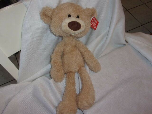 9ce2031c3c6 GUND Toothpick Teddy Bear Stuffed Animal Plush Beige 15
