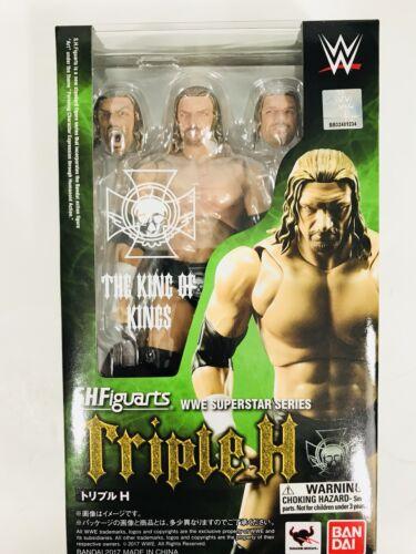 Triple H HHH WWE SHFiguarts Deluxe Action Figure The King of Kings Bandai 2017
