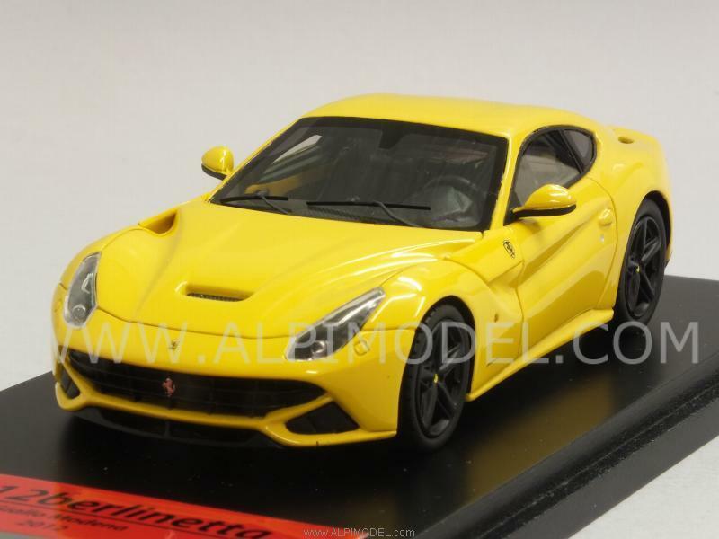Ferrari F12 Berlinetta 2012 jaune Modena 1 43 TRUESCALE FJM1343013