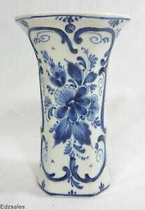 Delft-Blauw-Holland-6-Inch-Blue-Flower-Vase
