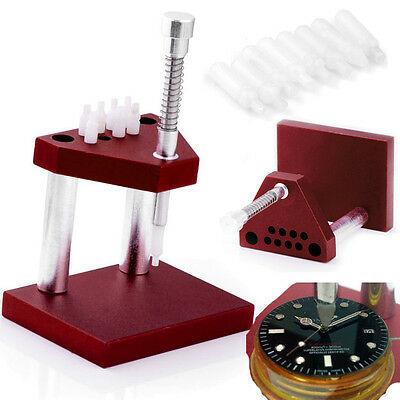 Pro Watch Presto Chrono Presser Watchmaker Tool Setting Fitting Hand Press Kit