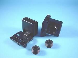 1-Satz-Glastuerscharniere-Schnaepperbaender-Kunststoff-Stahl-Schwarz