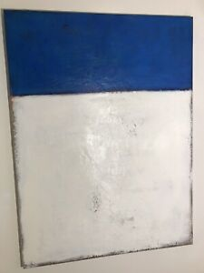 "Original Abstract Painting by Artist Jerry Czapp 48""x36"" Acrylic on Canvas"