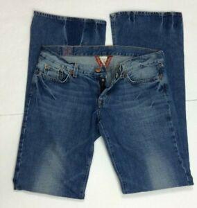 Lucky-Brand-Ladies-Lil-Hazy-Jean-Button-Fly-100-Cotton-Sz-12-C19