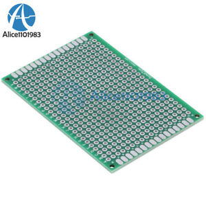 5PCS-Double-Side-Prototype-PCB-Tinned-Universal-Breadboard-5x7-cm-50mmx70mm-FR4