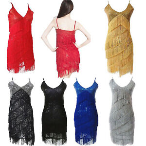 07a3593e71fb5 Image is loading 1920s-Dress-Flapper-Girl-Great-Gatsby-20s-Charleston-