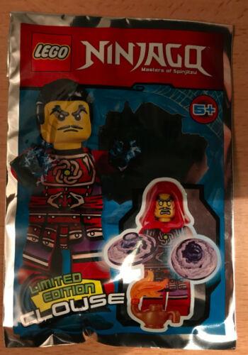 LEGO SET NINJAGO POLYBAG FIGURINE MINIFIG NINJA CLOUSE LE MECHANT MAGICIEN