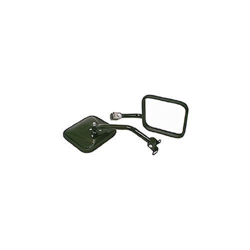 Jeep Wrangler Yj 87-95 Mirror Kit Cj Style Black  X 11001.07