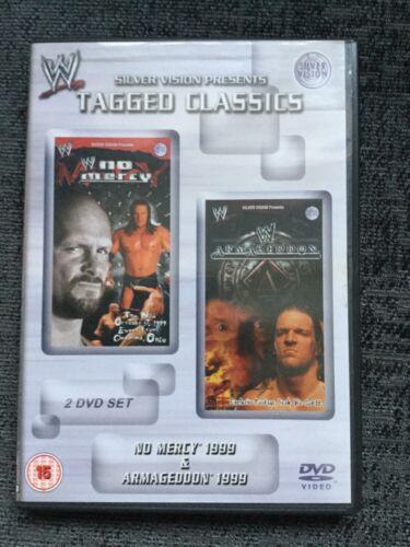1 of 1 - WWE Tagged Classics - No Mercy & Armageddon 1999 WWF Rare