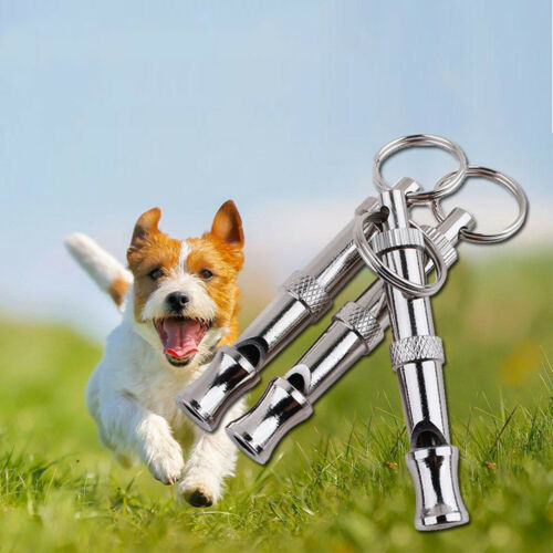 Puppy Pet Dog Whistle Two-tone Ultrasonic Flute Stop Barking Sound Repeller Hw