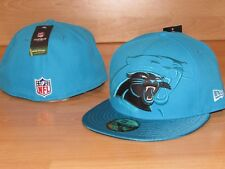 d4400fabb Carolina Panthers New Era 59FIFTY On-Field Fitted Hat Cap Men s Size 7 ...