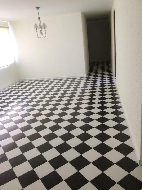 Departamento en Renta de 125 m2, piso 5 en Pedregal de Coyoacán, 3 Rec.,  3 baños, 2 cajones, 2 e...