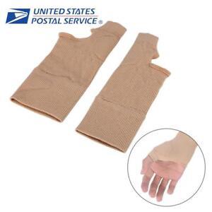 Therapy-Gloves-Hand-Wrist-Thumb-Support-Arthritis-Compression-Rheumatoid-Brace